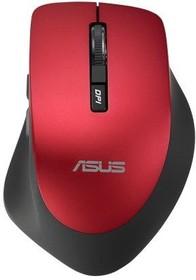 Мышь ASUS WT425 оптическая беспроводная USB, красный [90xb0280-bmu030]