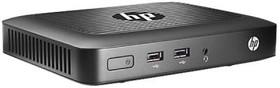 Тонкий клиент HP t420, AMD GX-209JA, DDR3L 2Гб, HP Smart Zero Core, черный [m5r72aa]