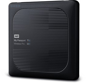 WDBP2P0020BBK-RESN, Накопитель на жестком магнитном диске WD Внешний жесткий диск WD My Passport Wireless Pro WDBP2P0020