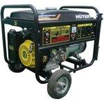 Электрогенератор DY6500LX с колёсами и аккумулятором Huter, , шт