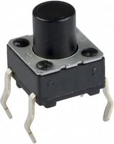 KLS7-TS6601-9.5-180, Кнопка тактовая h=9.5мм