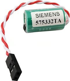 575332TA(1/2AA) со штекером, Элемент питания литиевый 850mAh 3В