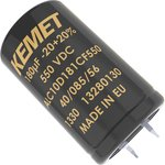 Фото 2/2 ALC10A471DF450, Cap Aluminum Lytic 470uF 450V 20% (35 X 50mm) Snap-In 10mm 0.252 Ohm 2430mA 15000h 85°C Bulk
