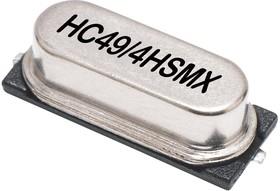 LFXTAL033575, Кристалл, 7.3728 МГц, SMD, 11.4мм x 4.9мм, 50 млн-, 18 пФ, 30 млн-, HC49/4HSMX Series