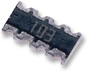 Фото 1/5 CAY16-221J4LF, Фиксированный резистор цепи, 220 Ом, Серия CAY16, 4 элемент(-ов), Изолированный