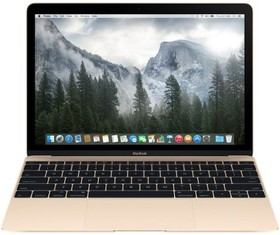 "Ноутбук APPLE MacBook MK4N2RU/A, 12"", Intel Core M M-5Y51, 1.2ГГц, 8Гб, 512Гб SSD, Intel HD Graphics 5300, Mac OS X, золотистый"