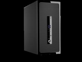 Компьютер HP ProDesk 400 G3, Intel Core i5 6500, DDR4 4Гб, 500Гб, Intel HD Graphics 530, DVD-RW, Free DOS, черный [p5k07ea]
