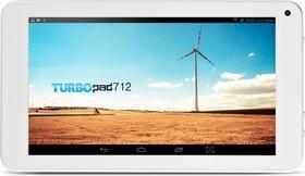 Планшет TURBO TurboPad 712 new, 512Мб, 8GB, Android 4.4 белый [рт00020438]