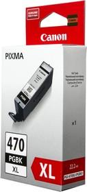 Картридж CANON PGI-470XLPGBK черный [0321c001]