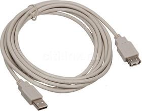 Кабель-удлинитель USB2.0 NINGBO USB A (m) - USB A (f), 5м