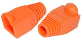 PL1268, Колпачок RJ-45, 4 шт, оранжевый