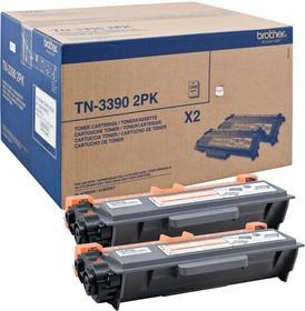 TN3390TWIN, Тонер-картридж 2шт TN3390 для HL-6180DW, DCP-8250DN, MFC8950DW (12000 стр.)