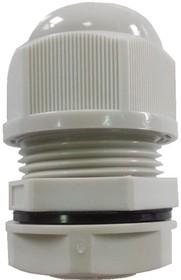 1001M2014-G (MGB20-14G-ST), Ввод кабельный, полиамид, серый