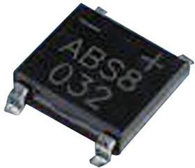 ABS4, BRIDGE RECTIFIER, SINGLE PHASE, 0.8A, 400V, ABS