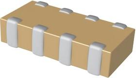CA064X102K4RACTU, Массив конденсаторов, 1000 пФ, 0612 [1632 Метрический], 16 В, 4 Элемента