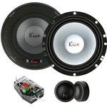 Колонки автомобильные Kicx PD-6.2 150Вт 92дБ 4Ом 16.5см (6 1/2дюйм) компонентные ...