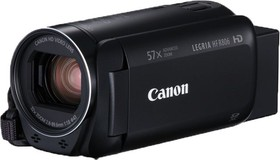 "Фото 1/9 Видеокамера Canon Legria HF R806 черный 32x IS opt 3"" Touch LCD 1080p XQD Flash"