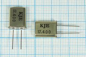Фото 1/4 кварцевый резонатор 17.184МГц в корпусе HC49U, нагрузка 16пФ, 17184 \HC49U\16\\\\1Г