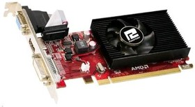 Видеокарта POWERCOLOR Radeon R5 230, AXR5 230 1GBK3-LHE, 1Гб, DDR3, Low Profile, oem [axr5 230 1gbk3-lhe bulk]