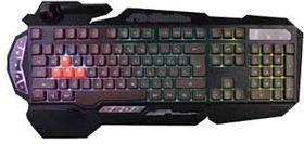 Клавиатура A4 Bloody B314, USB, c подставкой для запястий, черный