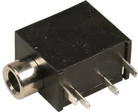 ST-215N-03, Аудио гнездо (СТ) 3.5мм на плату