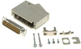 103724, KSG 200 Series, 25 Way D-Sub Plug Connector Kit With KSG 200 Housing with Integral Shielding Plate,