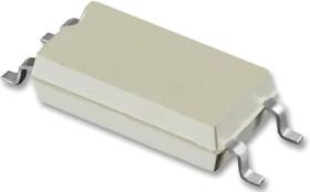 TCMT1108, Оптопара, с транзистором на выходе, 1 канал, SOP, 4 вывод(-ов), 60 мА, 3.75 кВ, 130 %