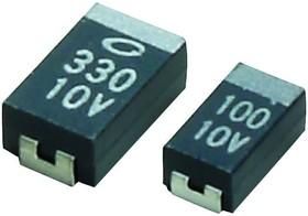 F931C105MAA, TANTALUM CAPACITOR, 1UF, 16V, 7.5 OHM, 0.2, 3216-12