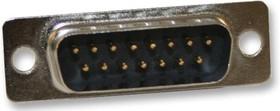 171-009-103L001, Разъем D Sub, DB9, Standard, Штекер, Серия 171, 9 контакт(-ов), DE, Solder Cup