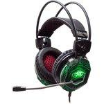 Наушники с микрофоном Oklick HS-L500G TOXIC черный 2.2м ...