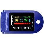 Пульсоксиметр Fingertip Lk88 Pulse Oximeter синий