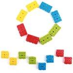 Фото 3/5 Grove - Blue Wrapper 1*2 (4 PCS pack), Корпус для крепления модулей Grove к металлическим поверхностям и конструктору LEGO
