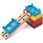 Фото 3/4 Grove - Blue Wrapper 1*2 (4 PCS pack), Корпус для крепления модулей Grove к металлическим поверхностям и конструктору LEGO