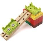 Фото 4/4 Grove - Green Wrapper 1*2 (4 PCS pack), Корпус для крепления модулей Grove к металлическим поверхностям и конструктору LEGO
