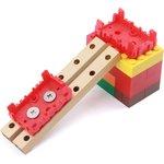Фото 2/4 Grove - Red Wrapper 1*2 (4 PCS pack), Корпус для крепления модулей Grove к металлическим поверхностям и конструктору LEGO