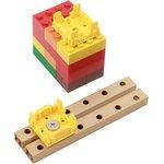 Фото 3/4 Grove - Yellow Wrapper 1*1 (4 PCS pack), Корпус для крепления модулей Grove к металлическим поверхностям и конструктору LEGO