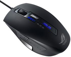Мышь ASUS GX850 лазерная проводная USB, черный [90-xb2y00mu00000]