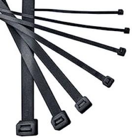 Хомуты для кабеля ИЭК 3,6х250 мм. нейлон черные (100шт)