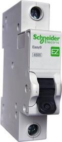 Выключатель автоматический Schneider Electric EASY9 ВА 1П 25А C 4.5кА 1DIN 1полюс 82х18мм