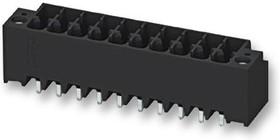 DMCV 1,5/ 6-G1F-3,5-LR P20THR, Клеммная Колодка, Штыревой Разъем, 3.5 мм, 6 вывод(-ов), 8 А, 160 В