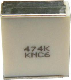 LDEMD2220KA5N00, Cap Film 0.022uF 400V PEN 10% (6 X 5 X 2.5mm) Stacked 125°C Automotive T/R