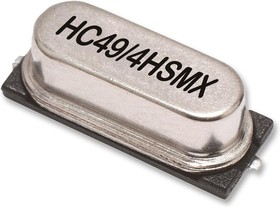 LFXTAL003237, Кристалл, 16 МГц, SMD, 11.4мм x 4.9мм, 50 млн-, 16 пФ, 30 млн-, Серия HC-49/4HSMX