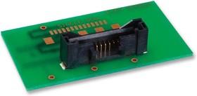 Фото 1/2 DF50A-8P-1V(51), Разъем типа провод-плата, 1 мм, 8 контакт(-ов), Штыревой Разъем, Серия DF50, Поверхностный Монтаж