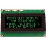 MCOB42005A1V-EGP, Буквенно-цифровой ЖК-дисплей, 20 x 4 ...