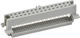 45130-010030, IDC Connector, IDC Receptacle, Female, 1.27 мм, 2 ряда, 30 контакт(-ов), Монтаж на Кабель