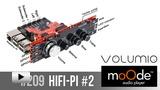 Смотреть видео: Moode_volumio & HiFi-Pi2
