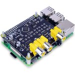 HiFi-Pi №1, DAC 2.1 FlatBelly, Stereo DAC for Raspberry Pi with subwoofer channels, PCM5142 + PCM5102