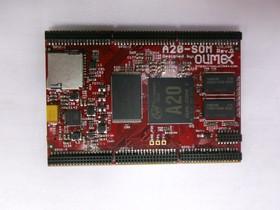 A20-SOM-4GB, Встраиваемый одноплатный компьютер на базе процессора A20 Dual Core Cortex-A7