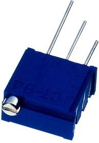 CT-94EW504, Подстроечный потенциометр, регулировка сверху, Multi Turn, RuO2 Cermet, Top Adjust, 500 кОм