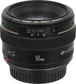 Фото 1/4 Объектив Canon EF USM (2515A012) 50мм f/1.4